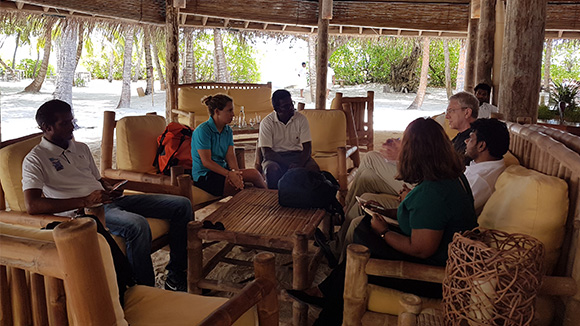 BR Consultant visits Sonevafushi