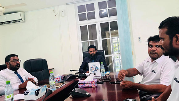 BR Office meets Atoll Council to discuss Olhugiri MP