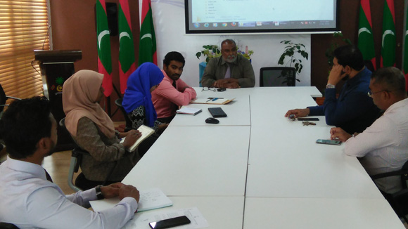 Meeting with Maldives Police and LGA