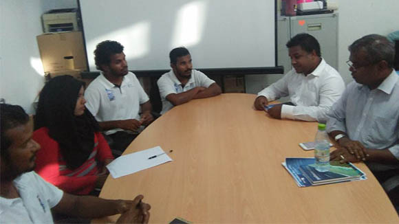 PS of Environment Ministry meets BR Staff