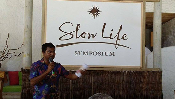 Minister attends Slow Life Symposium